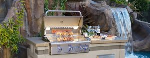 American Outdoor Grill Waterfall