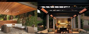 InfraTech Indoor Comfort outdoors